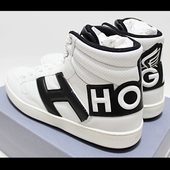 ac0712993ffe Italy HOGAN By TOD S High Top Basketball Sneakers